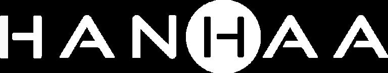 Hanhaa logo 2021 white