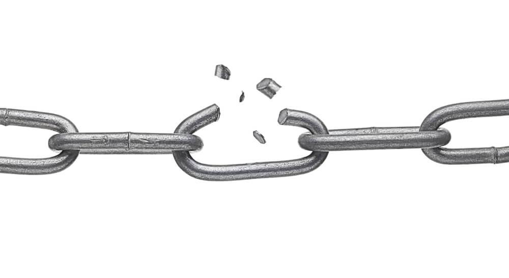 Broken cold chain