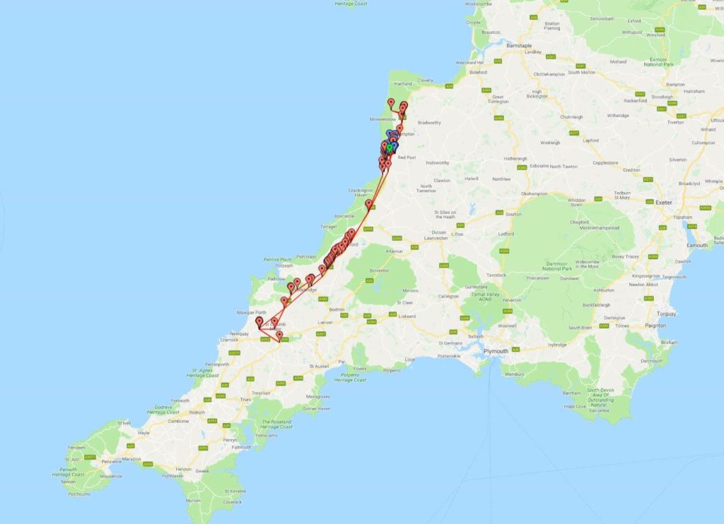 Dashboard Cornwall