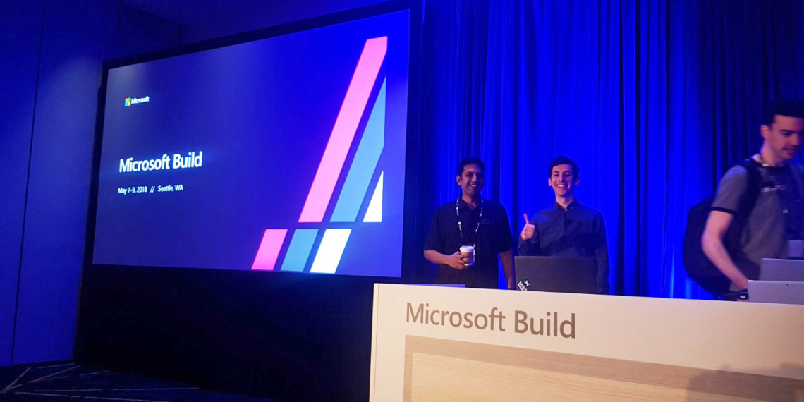 Presenting at Microsoft Build- Seattle, USA