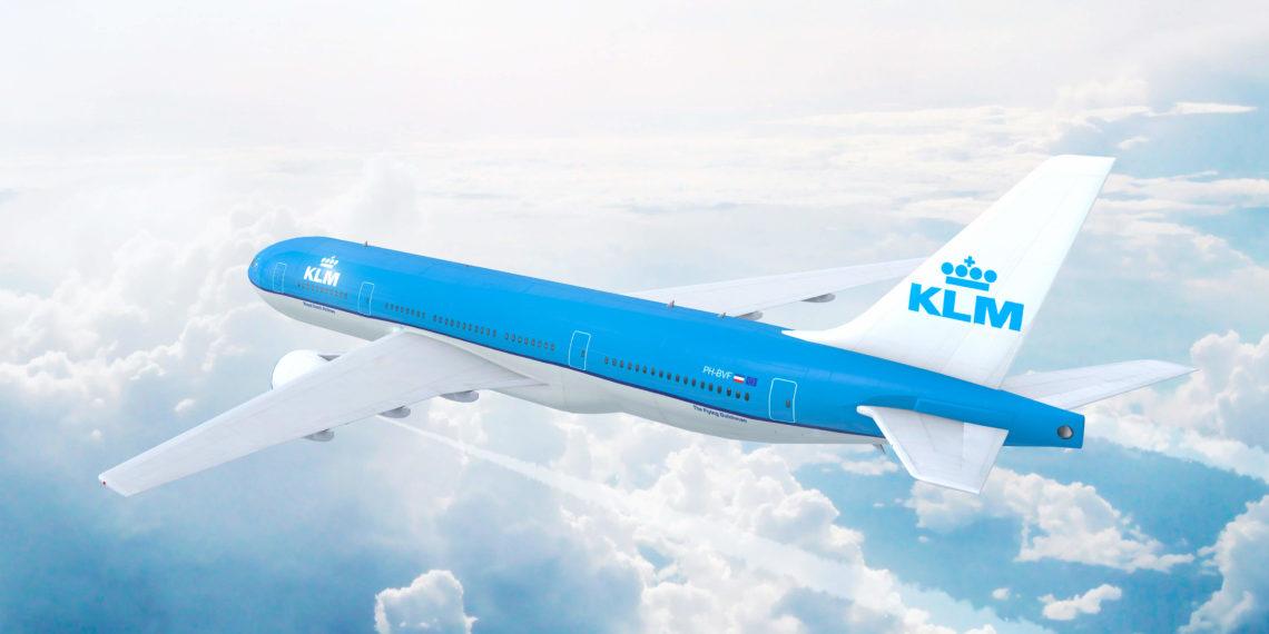 KLM header