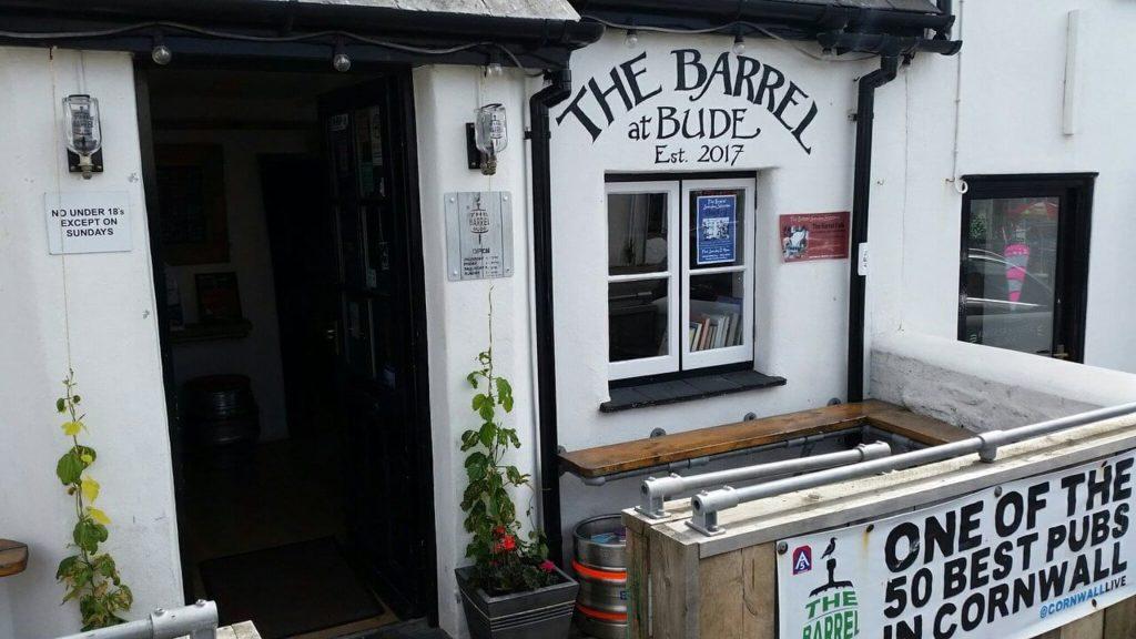 Outside of pub