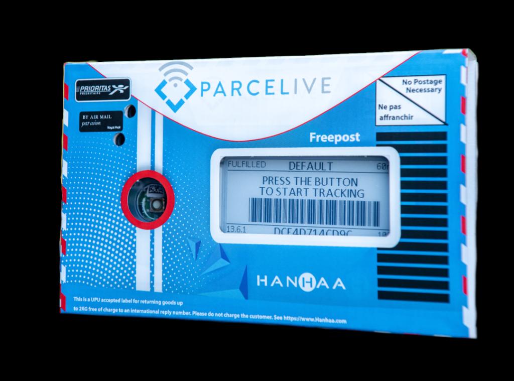 Contact us parcelive device
