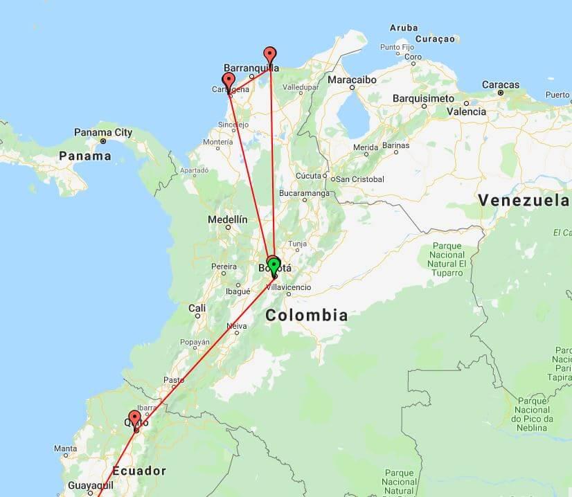Sasha Trip Ecuador Bogota
