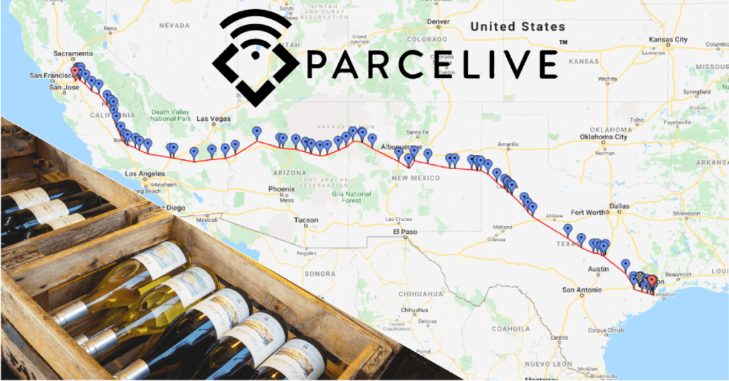 ParceLive case study High Value Wine Shipment Tracking