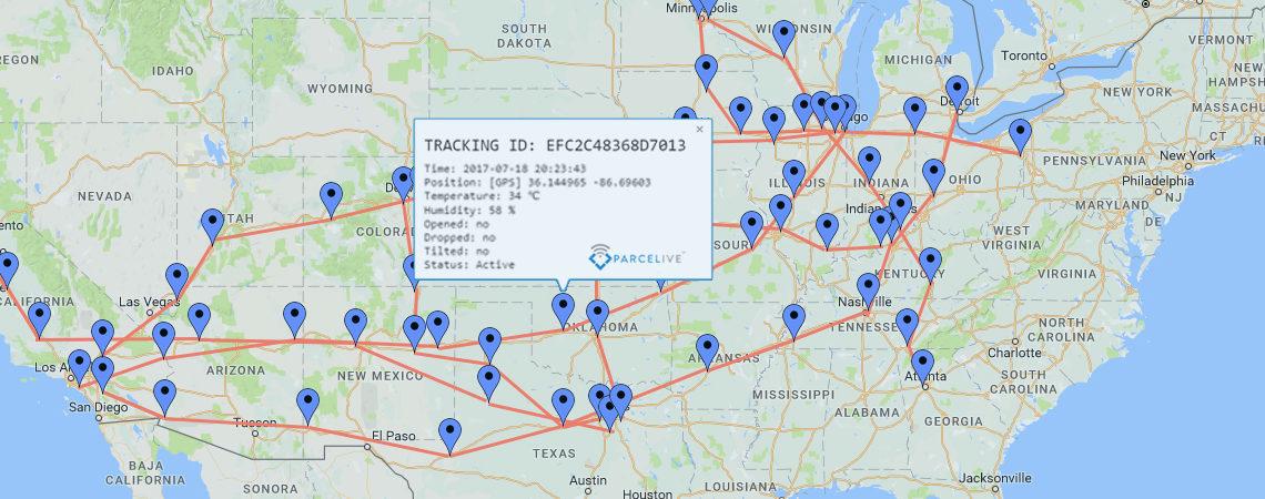 United States Map header