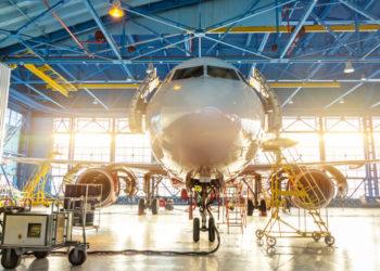 aircraft parts header