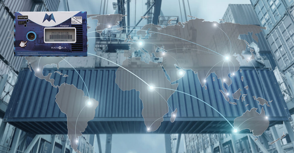 blockchain logistics morpheus integration
