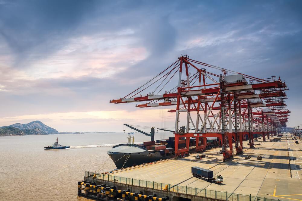 china docks