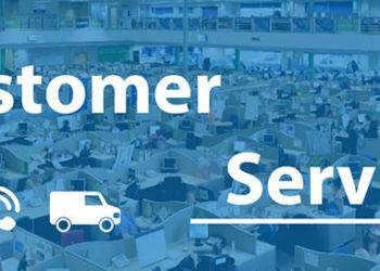 customer service header