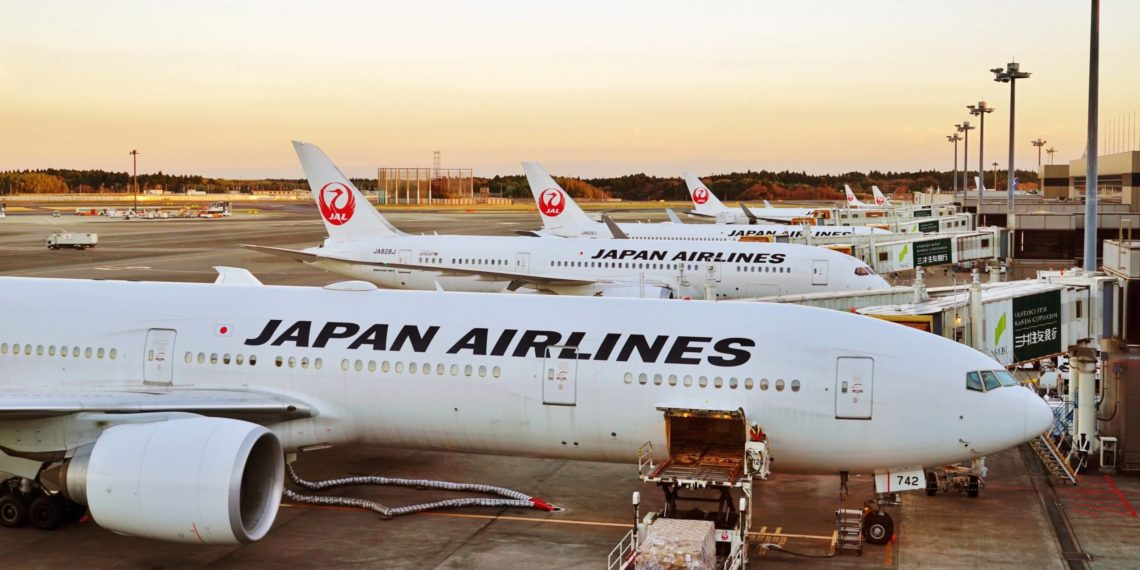 japan airlines header