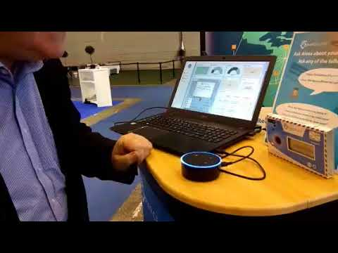 Demonstrating ParceLive's API Integration with Amazon's Alexa